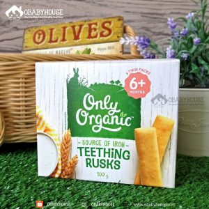 makanan bayi mpasi makanan sehat healthy food organic food organik garam himalayan garam sehat bubur bayi baby food Only Organic Pouch