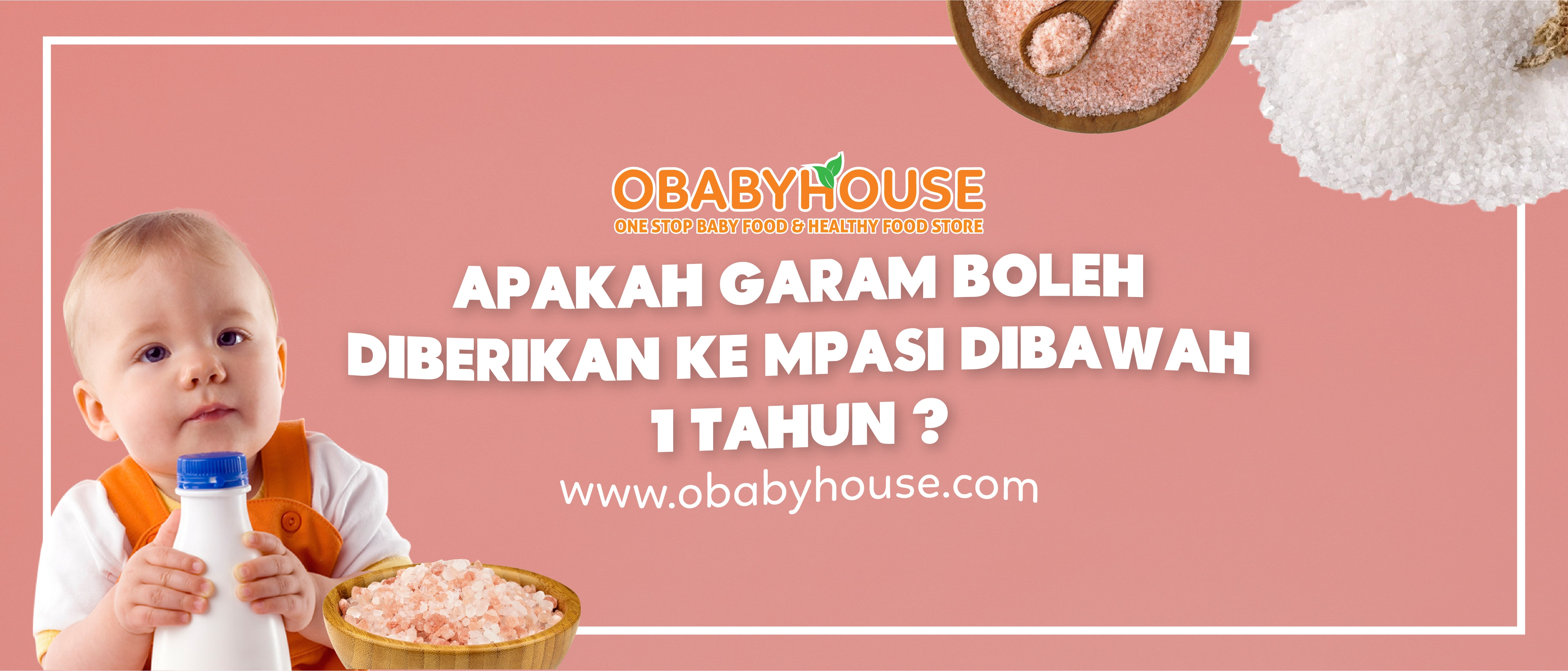 Apakah Garam Boleh Diberikan Ke Mpasi Dibawah 1 Tahun Obabyhouse