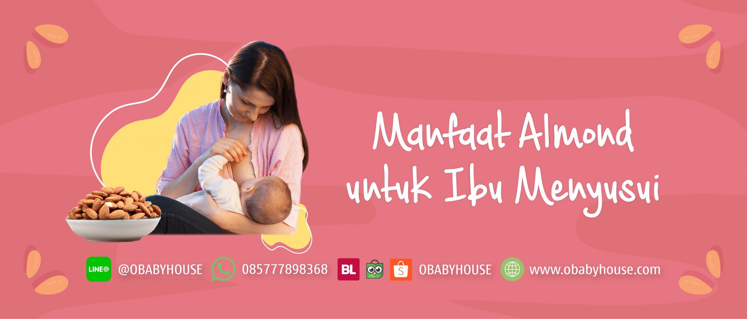 Manfaat Almond untuk Ibu Menyusui