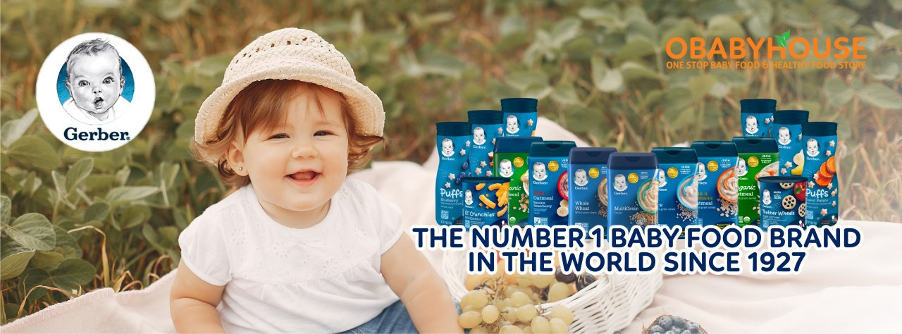 The Number 1 Baby Food Brand in the World since 1927