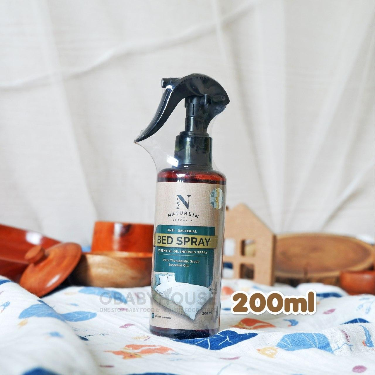 Naturein Anti Bacterial Bed Spray 200 Ml Obabyhouse